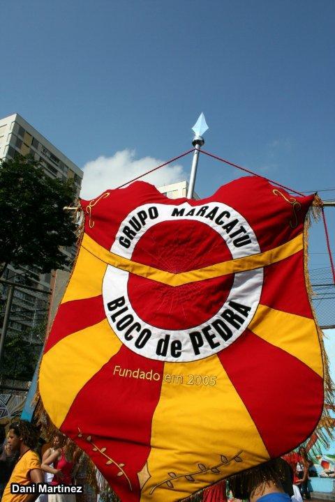 Grupo Maracatu Bloco de Pedra - Foto: Dani Martinez