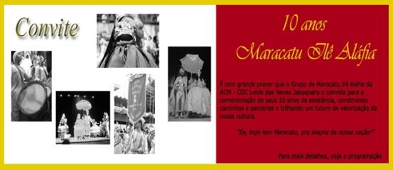 10 Anos do Grupo Maracatu Ilê Aláfia