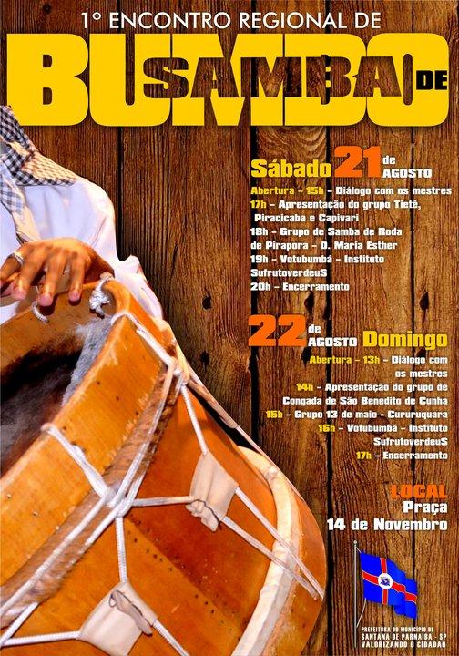 1º Encontro Regional de Samba de Bumbo