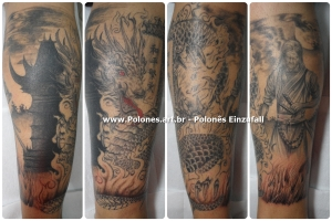 dragao_dragon_tattoos_samurai_templo_oriental_black_grey-polonesart-