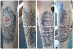palhaca_chicana_dollar_back_grey_preto-cinza_polonesart-tattoos