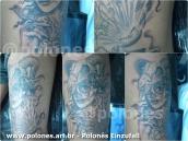 polonesart - Polonês Einzufall Tattoo Cortesia - La Catrina, polonesart