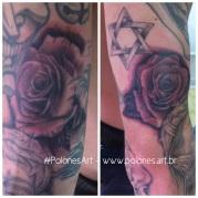 tattoo rosas-polonesart